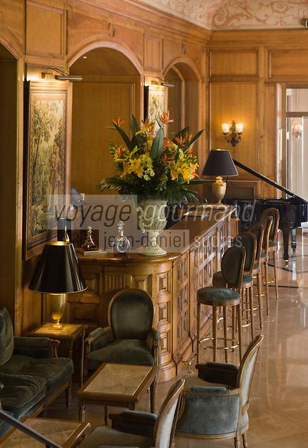 Europe/France/Provence-Alpes-Côte d'Azur/06/Alpes-Maritimes/Beaulieu-sur-Mer: Hôtel: La Réserve de Beaulieu- Le Bar