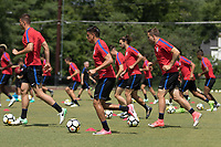 USMNT Training, June 29, 2017