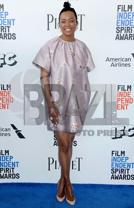 SANTA MONICA, 25.02.20-17 - SPIRIT-AWARDS - Aisha Tyler durante Film Independent Spirit Awards em Santa Monica na California nos Estados Unidos (Foto: Gilbert Flores/Brazil Photo Press)