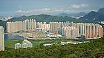 Tseung Kwan O From High Junk Peak, Hong Kong.