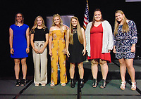 Photo Submitted<br /> In addition to winning the Joplin Globe's Player of the Year, McDonald County's Kylie Helm (far right) was a finalist for the Springfield Sports Commission Player of the Year. (Photo Submitted)