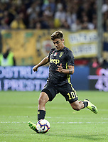 Calcio, Serie A: Parma - Juventus, Parma stadio Ennio Tardini, 1 settembre 2018.<br /> Juventu's Paulo Dybala in action during the Italian Serie A football match between Parma and Juventus at Parma's Ennio Tardini stadium, September 1, 2018. <br /> UPDATE IMAGES PRESS/Isabella Bonotto