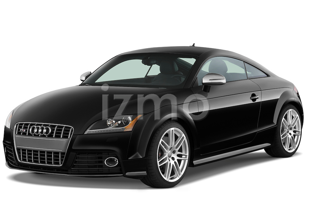 Front three quarter view of a 2010 Audi TTS Coupe.