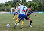 2018-07-03 / Voetbal / seizoen 2018 -2019 / KVC Westerlo - Sporting Charleroi / Lukas Van Eeno (l.KVC Westerlo) met Gaetan Hendrickx ,Foto: Mpics.be
