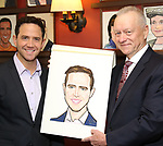 Max Klimavicius during the Santino Fontana portrait unveiling at Sardi's on May 21, 2019 in New York City.
