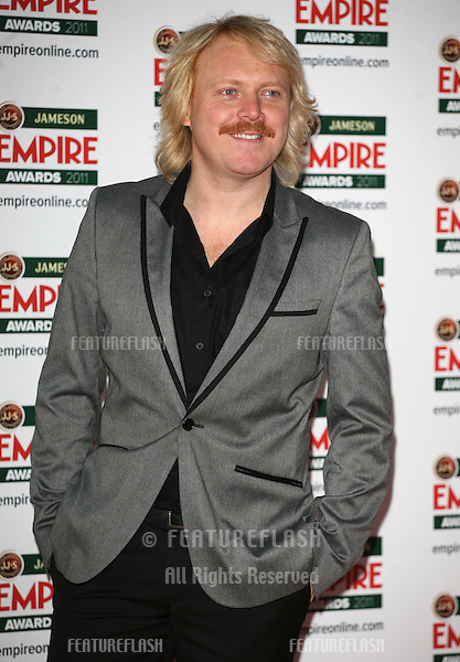 Leigh Francis arriving for the Jameson Empire Awards 2011, Grosvenor House Hotel, London. 27/03/2011  Picture by: Alexandra Glen / Featureflash