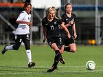 Jacqui Hand. OFC U-19 Women's Championship 2017, New Zealand v Fiji, Ngahue Reserve Auckland, Tuesday 11th July 2017. Photo: Simon Watts / www.bwmedia.co.nz