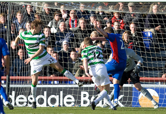 Garry Wood scores for Inverness