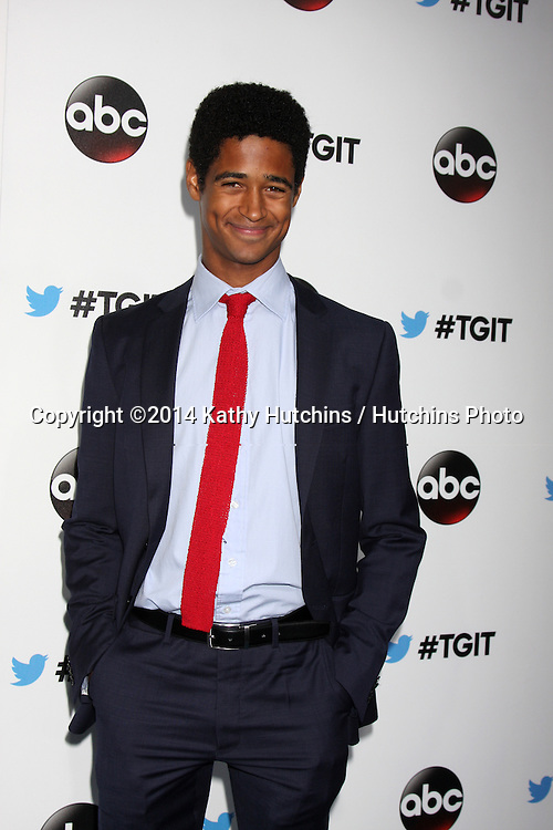 LOS ANGELES - SEP 20:  Alfred Enoch at the TGIT Premiere Event for Grey's Anatomy, Scandal, How to Get Away With Murder at Palihouse on September 20, 2014 in Westwood, CA