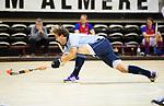 Almere - Zaalhockey  Laren-SCHC (heren)   .  Robbert van de Peppel  (Laren)  TopsportCentrum Almere.    COPYRIGHT KOEN SUYK