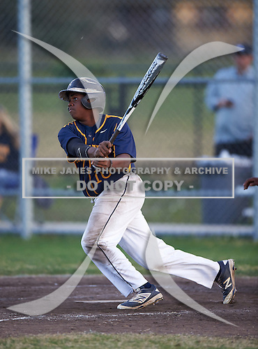 Boca Ciega Pirates Darius Blasingane (10) during a game against the Lakeland Spartans at Boca Ciega High School on March 2, 2016 in St. Petersburg, Florida.  (Copyright Mike Janes Photography)