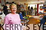 Marian Delaney who is retiring from Delaneys menswear in Ashe street.