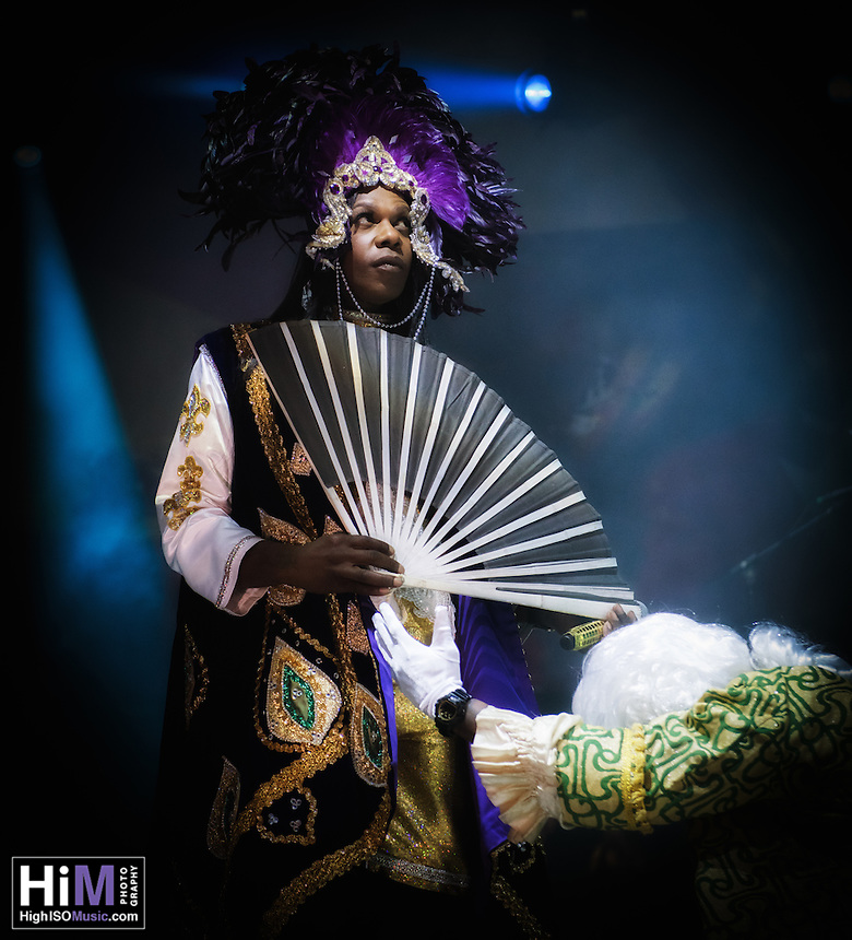 Big Freedia performs at the 2014 Voodoo Music Experience in New Orleans, LA.