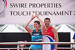 Winner of the Best Player Award of the Swire Touch Tournament on 03 September 2016 in King's Park Sports Ground, Hong Kong, China. Photo by Marcio Machado / Power Sport Images