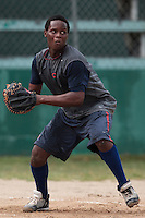 07 May 2010: Jean Antonio Samer is seen during a tryout for Team France, in St Maarten, Netherlands Antilles.