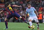 01.11.2014 Barcelona, Spain. La Liga day 10. Picture show Jonny in action during game between FC Barcelona against Celta de Vigo at Camp Nou