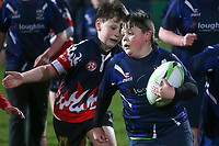 Friday 9th February 2018 | Ulster Rugby vs Southern Kings<br /> <br /> Halftime Mini Rugby during the Guinness PRO14 clash between Ulster Rugby and the Southern Kings at Kingspan Stadium, Ravenhill Park, Belfast, Northern Ireland. Photo by John Dickson / DICKSONDIGITAL