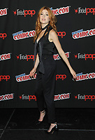 NEW YORK, NY - OCTOBER 07:  Katherine McNamara from the cast of the Shadowhunters attend the press day at New York ComicCon at the Theater at Madison Square Garden on October 7, 2017 in New York City. <br /> CAP/MPI/JP<br /> &copy;JP/MPI/Capital Pictures