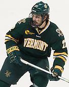 Brady Shaw (UVM - 22) - The visiting University of Vermont Catamounts defeated the Northeastern University Huskies 6-2 on Saturday, October 11, 2014, at Matthews Arena in Boston, Massachusetts.