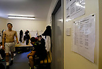 Burntisland Shipyard 0 Colville Park 7, 12/08/2017. The Recreation Ground, Scottish Cup First Preliminary Round. A fixture list in the home dressing room. Photo by Paul Thompson.