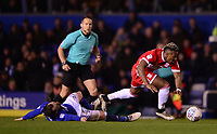 Adama Traore of Middlesbrough in action during the Sky Bet Championship match between Birmingham City and Middlesbrough at St Andrews, Birmingham, England on 6 March 2018. Photo by Bradley Collyer / PRiME Media Images.