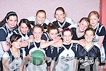 The St Paul's team that competed in the Martha Boyle basketball blitz in Currow Community Centre on Sunday front row l-r: Katie O'Leary, Elaine Courtney, Julie Kelly, Tara O'Shea. Back row: Teresa Sheehan, Denise Sheehan, Annie Sheehan, Cammy Kelleher, Liadh Tobin, Shona Guerin and Claire Buckley   Copyright Kerry's Eye 2008