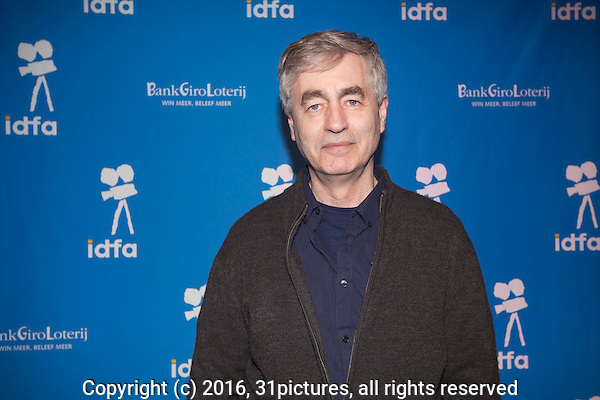 The Netherlands, Amsterdam, 25 November 2016. The 29th International Documentary Film Festival Amsterdam - IDFA 2016. Premiere Abacus: Small Enough to Jail, director Steve James. Photo: 31pictures.nl / (c) 2016, www.31pictures.nl