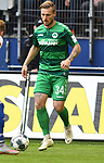 05.10.2019,  GER; 2. FBL, Hamburger SV vs SpVgg Greuther Fuerth ,DFL REGULATIONS PROHIBIT ANY USE OF PHOTOGRAPHS AS IMAGE SEQUENCES AND/OR QUASI-VIDEO, im Bild Einzelaktion Hochformat Marvin Stefaniak (Fuerth #34) Foto © nordphoto / Witke