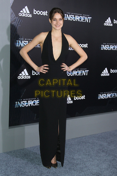 NEW YORK, NY - MARCH 16: Shailene Woodley at the New York premiere of The Divergent Series: Insurgent at the Ziegfeld Theatre in New York City on March 16, 2015. <br /> CAP/MPI/RW<br /> &copy;RW/MPI/Capital Pictures