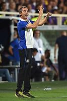 Marco Giampaolo Sampdoria <br /> Firenze 27-08-2017 Stadio Artemio Franchi Calcio Serie A Fiorentina - Sampdoria Foto Andrea Staccioli / Insidefoto