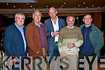 Rebel, Rebel: At the launch of Billy Morgan's autobiography on Saturday night at the Listowel Arms Hotel were Paddy Regan, Cork, Dennis Coffey, Killarney, John Joe Sheehy, Tralee, John Looney, Listowel and Paddy Keane, Listowel .