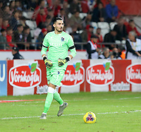 8th December 2019;  Goalkeeper Ugurcan Cakir of Trabzonspor during the Turkish Super League football match between Antalyaspor and Trabzonspor at Antalya Stadium in Antalya  . Premier League Chelsea have agreed to sign the goalkeeper on a permanent basis