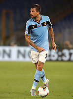 Football, Serie A: S.S. Lazio - Cagliari, Olympic stadium, Rome, July 23, 2020. <br /> Lazio's Francesco Acerbi in action during the Italian Serie A football match between Lazio and Cagliari at Rome's Olympic stadium, Rome, on July 23, 2020. <br /> UPDATE IMAGES PRESS/Isabella Bonotto