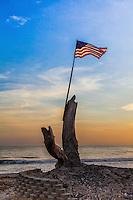 9/11 Memorial at Poche Beach Capistrano