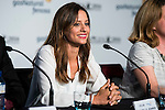 """Spanish actress Michelle Jenner during the projection of the short film """"Milagros y Remedios"""", the second part of the group film """"En tu Cabeza"""" at the Festival de Cine Fantastico de Sitges in Barcelona. October 07, Spain. 2016. (ALTERPHOTOS/BorjaB.Hojas)"""