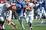 October 24, 2015 - Colorado Springs, Colorado, U.S. - Fresno State running back, Marteze Waller #33, in action during the NCAA Football game between the Fresno State Bulldogs and the Air Force Academy Falcons at Falcon Stadium, U.S. Air Force Academy, Colorado Springs, Colorado.  Air Force defeats Fresno State 42-14.