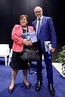 Roma, 25 Maggio 2017<br /> Rossella Orlandi e Ernesto Maria Ruffini<br /> Presidente e Amministratore Delegato - Equitalia<br /> Convegno &quot;L'innovazione digitale del fisco&quot; durante il Forum PA 2017 della Pubblica amministrazione