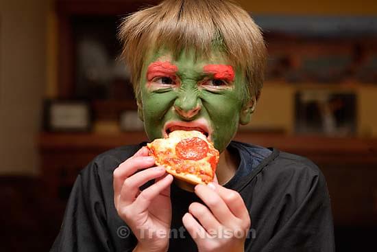 Noah Nelson on Halloween<br />