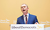 Liberal Democrat Leadership press conference. <br /> Tim Farron - outgoing leader <br /> <br /> 20th July 2017 <br /> at The St Ermin&rsquo;s Hotel, London. Great Britain <br /> &nbsp;<br /> <br /> <br /> Photograph by Elliott Franks <br /> Image licensed to Elliott Franks Photography Services
