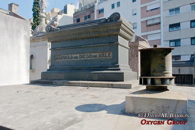Samuel Hale Pearson Tomb, La Recoleta Cemetery