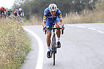 Philippe Gilbert (BEL) Deceuninck-Quick Step attacks during Stage 12 of La Vuelta 2019 running 171.4km from Circuito de Navarra to Bilbao, Spain. 5th September 2019.<br /> Picture: Luis Angel Gomez/Photogomezsport | Cyclefile<br /> <br /> All photos usage must carry mandatory copyright credit (© Cyclefile | Luis Angel Gomez/Photogomezsport)