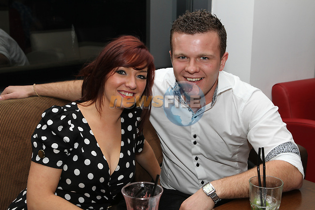 Emma McLoughlin and Chris Woods in Bru...(Photo Jenny Matthews/www.newsfile.ie)