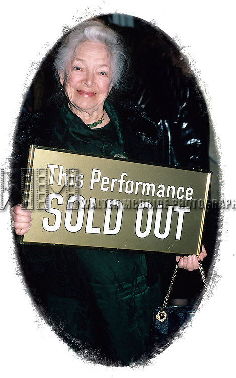 Helen Hayes pictured at the Helen Hayes Theatre in New York City in 1988.