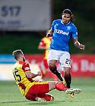 Danny Devine tackles Carlos Peña