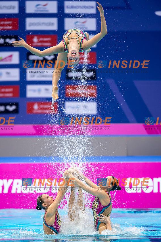 Team RUS Russia<br /> London, Queen Elizabeth II Olympic Park Pool <br /> LEN 2016 European Aquatics Elite Championships <br /> Team Technical final<br /> Day 01 09-05-2016<br /> Photo Giorgio Scala/Deepbluemedia/Insidefoto