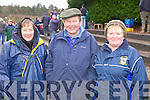 Nono O'Connor(Abbeyfeale), Aneas Murphy(Rockchapel) and Ann McEvery(Abbeyfeale) enjoying the annual coursing meeting held last week in Abbeyfeale.