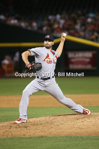 Tyler Lyons - 2016 St. Louis Cardinals (Bill Mitchell)