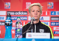 Edmonton, Canada - June 20, 20115:  The USWNT trained and had a press conference before their round of 16 game in the FIFA Women's World Cup.