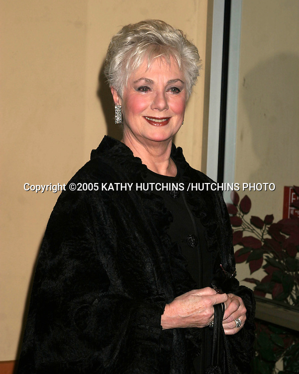 ©2005 KATHY HUTCHINS /HUTCHINS PHOTO.ETHEL MERMAN'S BROADWAY PLAY.CELEBRITY OPENING.EL PORTAL THEATER.NO HOLLYWOOD, CA.FEBRUARY 4, 2005..SHIRLEY JONES.