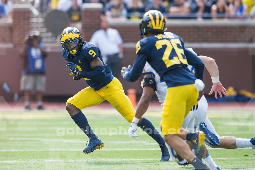 Michigan football defeats Air Force, 29-13, at Michigan Stadium on Saturday, September 16, 2017.
